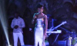MzVee and Kidi perform Locked Away