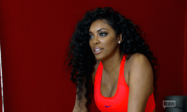 Porsha Williams Has Heated Argument with Her Sister Lauren