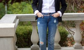 How To Rock Your  Tattered  Jeans