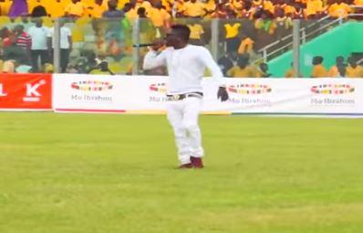 Shatta Wale – Performance at Mo Ibrahim Governance Cup