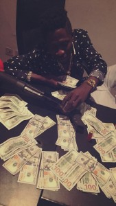 Shatta Wale Flaunts it on social media