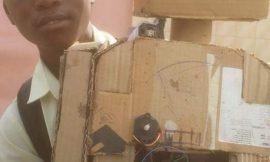 Amazing Ghanaian  Child Creates A Robot!