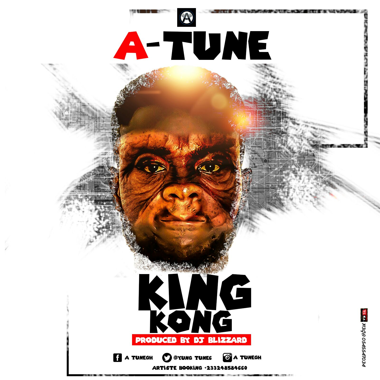 """The """"King Kong""""  has Landed ~ A Tune"""