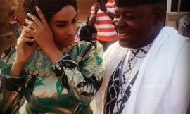 Juliet Ibrahim's traditional 'wedding'