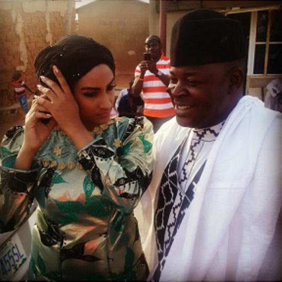 Juliet Ibrahim's traditional 'wedding'