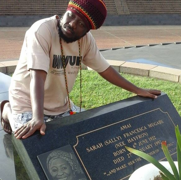 Blakk Rasta pays homage to Mugabe's late wife
