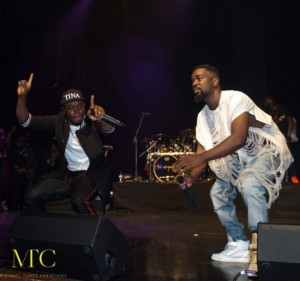 Sarkodie's 'Yeezus' outfit worn for Indigo at the 02 Arena concert