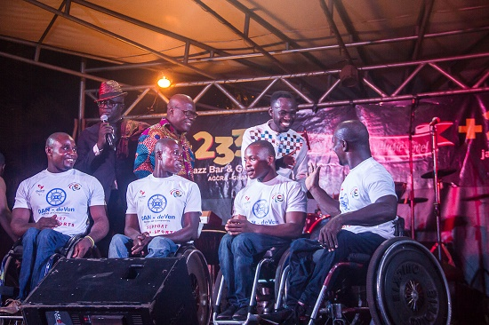 A support for Okyeame Kwame's 'Music and Wheels'