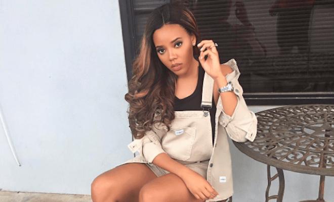 Angela Simmons' Responds | Pregnancy Rumors
