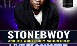 Stonebwoy rock Vienna City – Kumasi