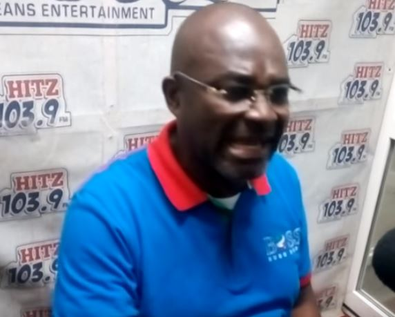 Kennedy Agyapong strips Kevin Taylor naked before Ghanaians in Germany