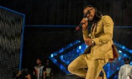 Flavour's live band performance at Ghana Meets Naija Concert