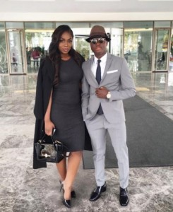 Samuel Inkoom and his lovely Wife