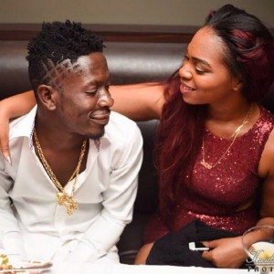 Take it easy on kissing and smooching my wife on set Shatta Wale