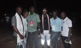 Akesse Brempong and others at Time Up 2016 Gospel Street Carnival