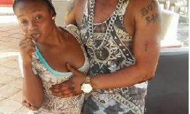 Bukom Banku chilling with two ladies