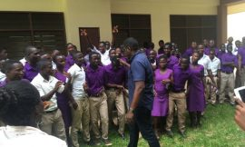 John Dumelo declares: I donated 100 but not 6 maths sets to the students