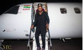 Flavour, others touch down|Ghana meet Nigeria