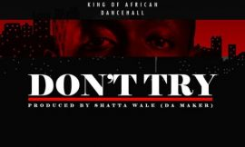 Don't Try ~ Shatta Wale