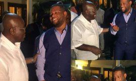 D-black and flag bearer for NPP, Nana Addo Dankwa Akufo-Addo met