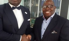 Kwame Adinkra visited Bola Ray to sign a deal?
