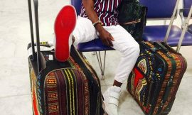 "Okyeame Kwame shares photo from ""New York bound"""