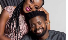 Basketmouth and wife, Elsie Okpocha