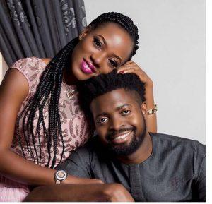 Basketmouth and wife, Elsie Okpocha