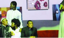 A scene in the play 'Mallams and Pastors'
