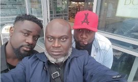 Sarkodie on a new hairstyle?