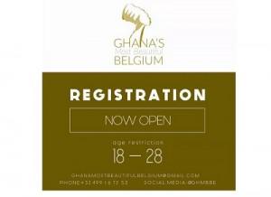 Ghana Most Beautiful to Belgium