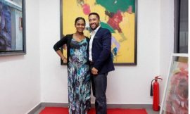 Majid Michel and wife