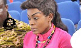 Check out Akosua Agyapong's eyebrow