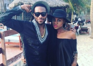 A special B'day wish from Becca to D'Banj