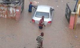 Nkrumah circle, Accra flood's again!!!