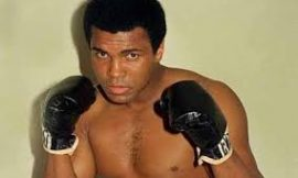 Legendary Boxer Muhammed Ali Passes' on