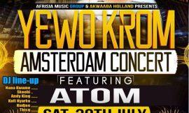 Atom to headline 'Yewo Krom' Amsterdam concert
