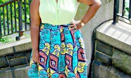6 ways to style Ankara skirt