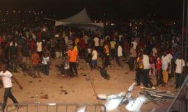 9 dead in Kumasi concert stampede