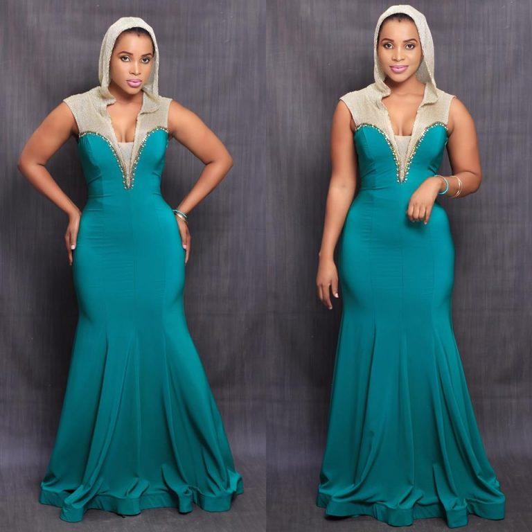 Benedicta Gafah in a new fashion look