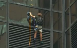 Man Attempts to Climb Trump Tower in NYC