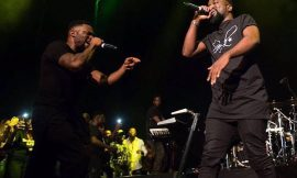 Sarkodie at Afrobeats Music Festival in UK