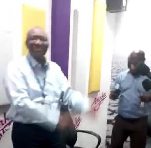 "NDC's Kwaku Boahene dance to ""Wakye"" whiles his people suffer"