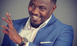 Ghanaian actor John Dumelo celebrates his birthday with widows