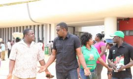NDC youth spit blood at John Dumelo