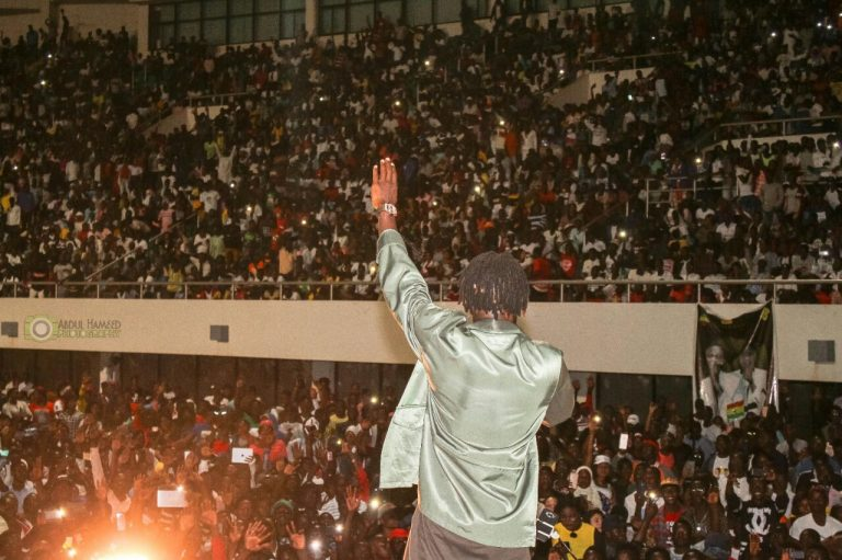 Short video clip: Stonebwoy's stage murder