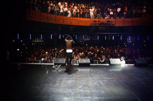 Indigo O2 Arena with African Dancehall champion – Shatta Wale