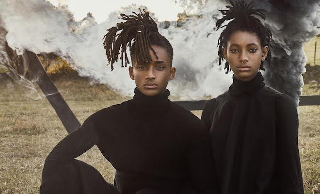 We draw inspiration from their famous parents – Willow and Jaden Smith