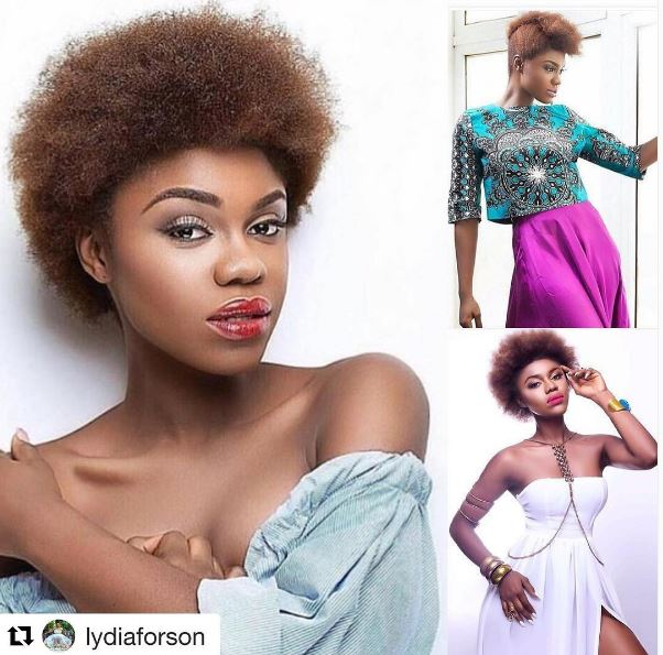 Becca named Hair Crush Wednesday by Lydia Forson