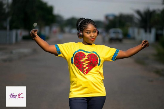 The beauty in African art…A designer t-shirt from Salomey NKansah